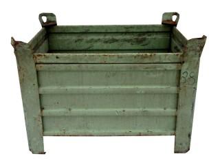 Pronájem kovové palety Mars box malé 600x600x800