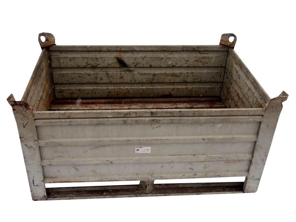 Pronájem kovové palety Mars box velké